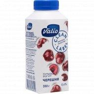 Йогурт питьевой «Valio» с черешней, 0.4%, 330 г.