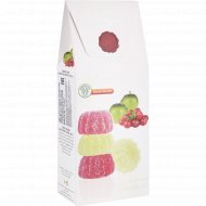 Мармелад фруктовый «Silagum» с яблочным и клюквенным соком, 200 г.