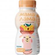 Йогурт питьевой «Мама Лама» персик, 2,5%, 200 г.