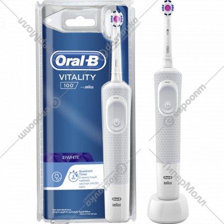 Электрическая зубная щетка «Oral B» Vitality PRO 3D White, D100.413.1