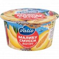 Йогурт «Valio» малибу смусси, медовая дыня и семена чиа, 2.6%, 140 г.