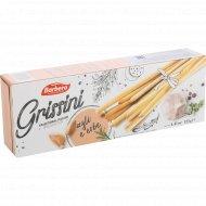 Хлебные палочки «Grissini» с чесноком и травами, 125 г.