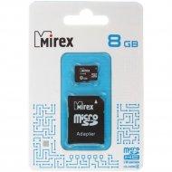 Карта памяти «Mirex» microSD, 8 GB