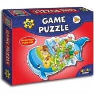Игровой пазл «Чудо-юдо Рыба-кит» 40 элементов.