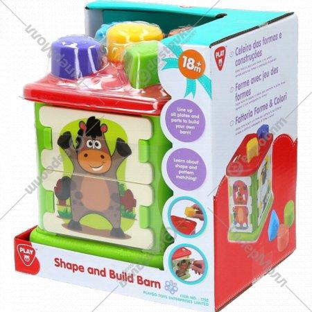 Развивающая игрушка «Домик-сортер Забавные животные».