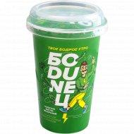 Напиток кисломолочный «Боdunец» со вкусом соленого огурца с укропом, 1.5%, 220 г.