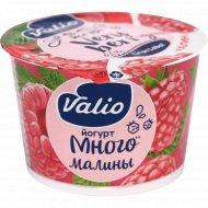 Йогурт «Valio» с малиной, 2.6%, 180 г.