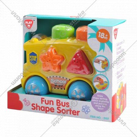 Развивающий автобус-сортер.