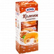 Пирожные бисквитные «Колечки» с вареной сгущенкой, 6х40 г.