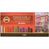 Пастель «Koh-I-Noor» Toison D'or, 8582012001KS, 12 цветов