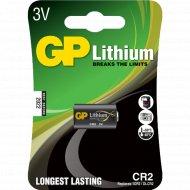 Элемент питания «GP Lithium» CR2, 1 шт.