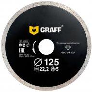 Диск по керамической плитке, 125x5x2.0x22x23 мм.