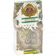 Чай зеленый «Basilur» белая луна листовой, 100 г.