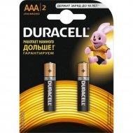 Элемент питания «Duracell» LR03/MN2400, 2 шт.