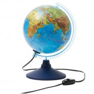 Глобус физико-политический 21 см, с подсветкой.