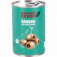 Оливки «Хороший сезон» без косточки, 280 г