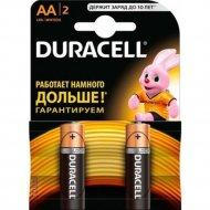 Комплект батареек «Duracell» LR6/MN1500, 2 шт