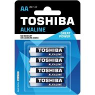 Элемент питания «Toshiba» Alkaline LR6 4BP, 4 шт.