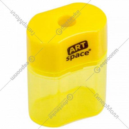 Точилка «ArtSpace» 1 отверстие, контейнер.