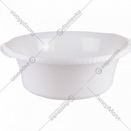 Таз пластмассовый круглый «Водолей» 45 Х 40 см, 12 л.