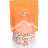 Соль пищевая «Aroma» розовая, крупная, 250 г.
