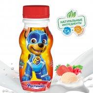 Йогурт «Растишка» клубнично-малиновый пломбир, 1.6%, 200 г.