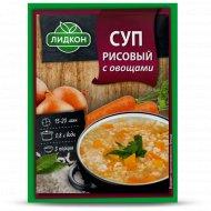 Суп рисовый с овощами «Лидкон» 70 г.