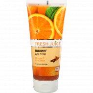 Пилинг для тела «Fresh Juice» оrange & сinnamon 200 мл.