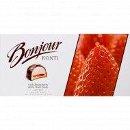 Десерт «Bonjour souffle» клубника со сливками 232 г