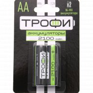 Аккумулятор «Трофи» HR6-2BL, 2100 mAh.