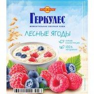 Овсяная каша момент «Геркулес» с лесными ягодами, 35 г.