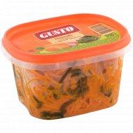 Салат «Морковь по-корейски с морской капустой» 350 г