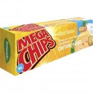 Чипсы «Mega Chips» со вкусом сметаны и сыра, 200 г.