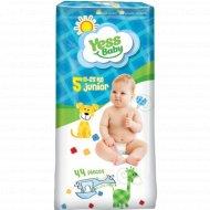 Детские подгузники «Yess Baby» Junior, размер 5, 11-25 кг, 44 шт.