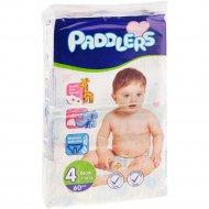 Детские подгузники «Paddlers» Jumbo pack, maxi, 8-18 кг, 60 шт.