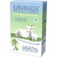 Каша кукурузная «Бибикаша» на козьем молоке 200 г.
