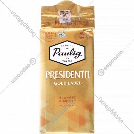 Кофе молотый «Paulig» Presidentti Gold Label, 250 г.