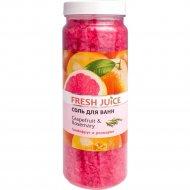 Соль для ванн «Grapefruit&Rosemary» 700 г