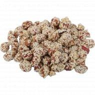 Арахис жаренный в сахарной глазури с кунжутом, 1 кг., фасовка 0.3-0.4 кг