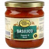 Томатный соус «Cento Percent» с базиликом, 400 г