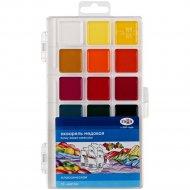 Краски акварельные «Классическая» медовая 18 цветов без кисти.