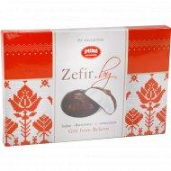 Зефир ванильный «Красный пищевик» в шоколадной глазури, 250 г.