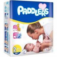 Детские подгузники «Paddlers» Jumbo pack, mini, 3-6 кг, 80 шт.