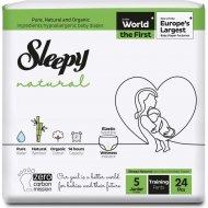 Детские подгузники-трусики «New Sleepy» jumbo pack, junior, 11-18 кг, 24 шт.