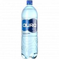 Вода питьевая «Aura» газированная, 0.5 л.