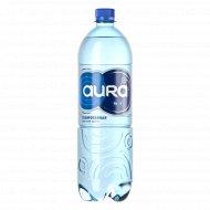 Вода питьевая «Aura» газированная 1 л.