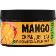 Скраб для тела сахарный, кенийский манго, 250 мл.