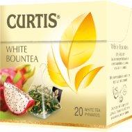Чай белый «Curtis» Bountea, 20 пакетиков.