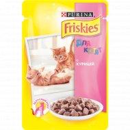 Корм для котят «Friskies» с курицей, 100 г.