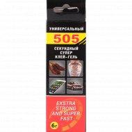 Супер клей-гель «505 cекунда» универсальный, 6 г.
